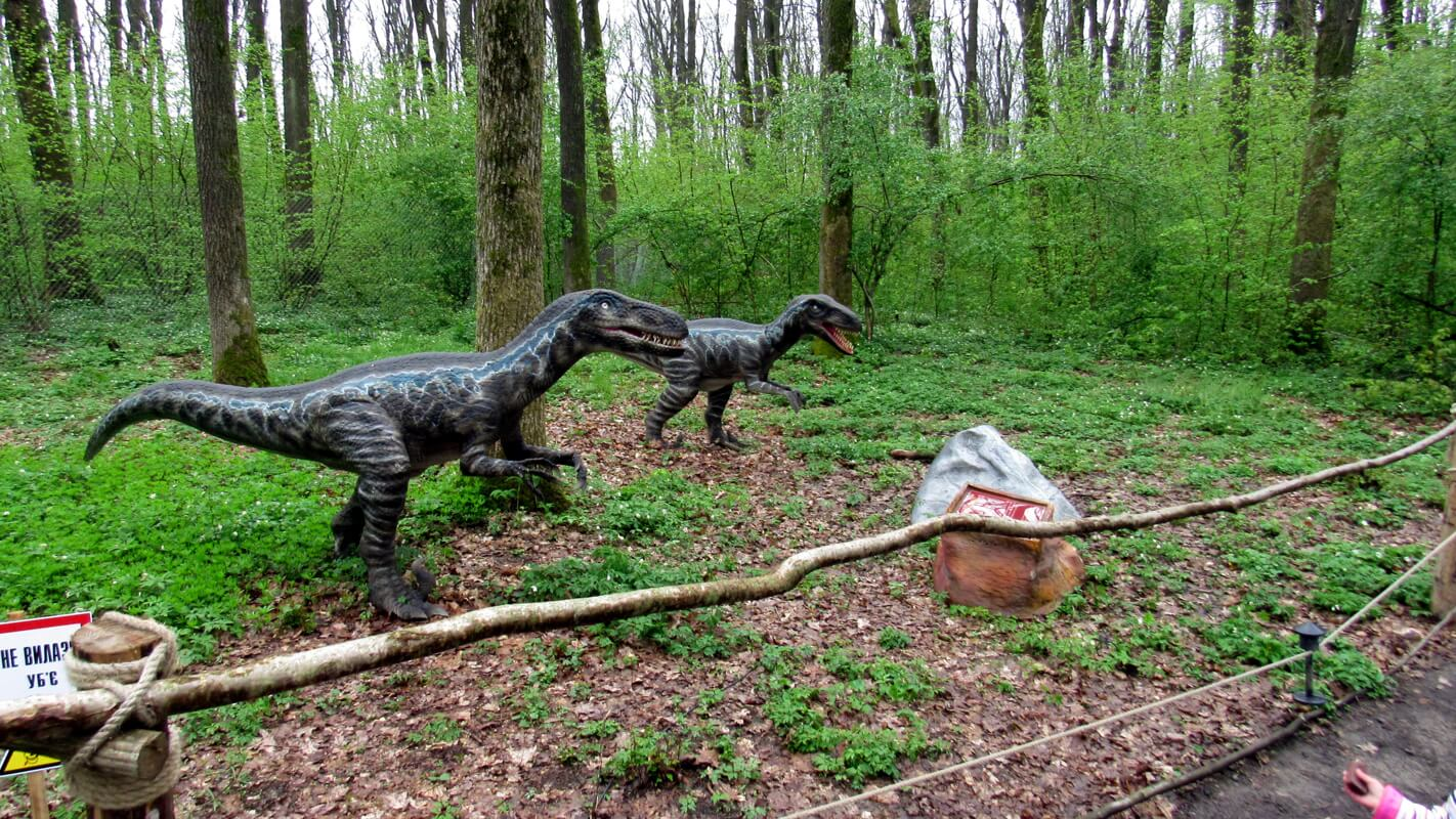 Парк динозавров в Берегово
